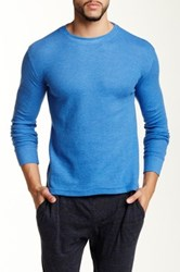 Bottoms Out Crew Neck Tee Blue