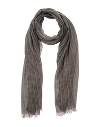 People Oblong Scarves Dove Grey