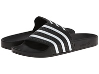 Adidas Adilette Black White Shoes