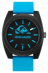 Men's Quiksilver 'The Big Wave' Silicone Strap Watch 44Mm