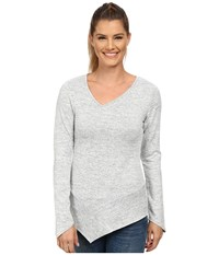 Kuhl L A Slant Long Sleeve Top Ash Women's Long Sleeve Pullover Gray