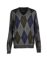 Firetrap Knitwear Jumpers Men Grey