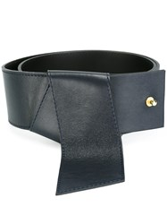 Cacharel 'Origami' Belt Blue