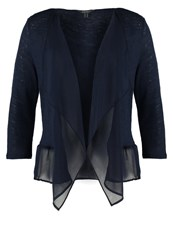 Esprit Collection Cardigan Navy Dark Blue