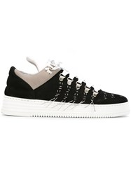 Filling Pieces Stitching Detail Sneakers Black