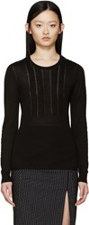 Burberry Black Cashmere Sweater