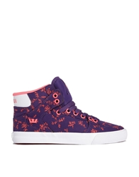 Supra Purple Vaider High Top Trainers Purplepink