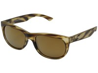 Kaenon Stinson Driftwood Brown 12 Polarized Gold Mirror Fashion Sunglasses