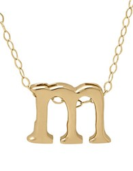 Lord And Taylor 14K Gold Pendant Necklace M
