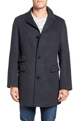 Billy Reid Men's 'Astor' Three Button Wool Overcoat