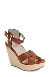 Women's Kenneth Cole New York 'Clove' Sandal Brown Leather