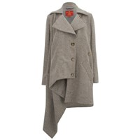 Vivienne Westwood Red Label Women's Military Coating Blanket Kaban Natural Grey