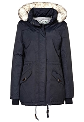 Schott Nyc Freya Down Jacket Ocean Blue