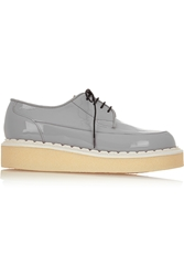 Purified George Cox Patent Leather Creepers