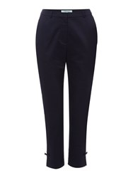 Dickins And Jones Bow Detail Trouser Navy