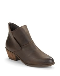 Me Too Zale Leather Ankle Boots Brown