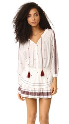 Loveshackfancy Popover Dress Antique White
