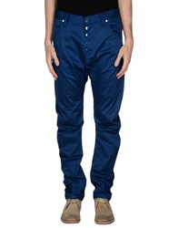 Humor Trousers Casual Trousers Men Blue