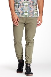 Micros Ace Twill Slim Fit Chino Jogger Green