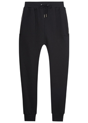 Blood Brother Black Cotton Jersey Jogging Trousers