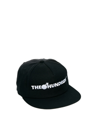 The Hundreds Snapback Cap Black