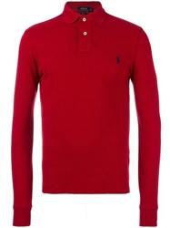 Polo Ralph Lauren Long Sleeve Shirt Red