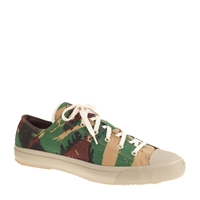 J.Crew The Hill Side French Lizard Camo Sneakers French Lizard Camp