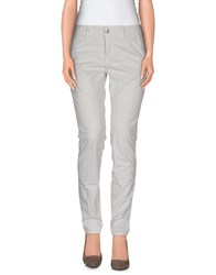 Care Label Trousers Casual Trousers Women Light Grey