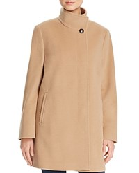 Basler Classic High Neck Coat Camel