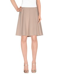 Aniye By Skirts Knee Length Skirts Women Beige