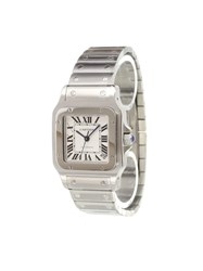 Cartier 'Santos Galbee' Analog Watch Stainless Steel