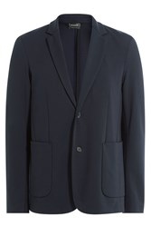 Jil Sander Tailored Blazer Blue