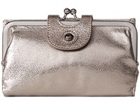 Hobo Alice Hematite Wallet Handbags Silver