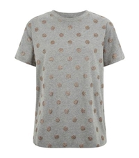 Red Valentino Glitter Polka Dot T Shirt
