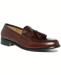 Dockers Lyon Tassel Loafers Men's Shoes Mahogony