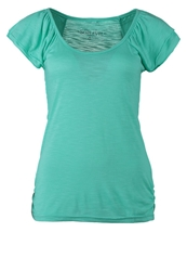 Sublevel Dob Basic Tshirt Glowing Turquoise Melange