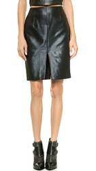 Finderskeepers Wonderland Skirt Metallic Black