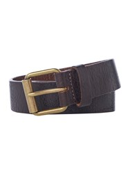 Barbour Casual Leather Belt Brown