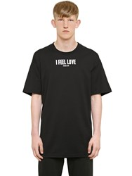 Givenchy Cuban Fit Feel Love Print Jersey T Shirt