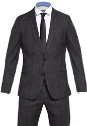 Strellson Allen Mercer Suit Anthrazit Anthracite