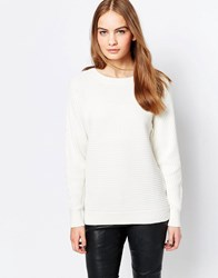 Just Female Minds Jumper Ivory White
