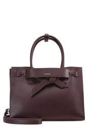 Pinko Bressuire Handbag Bordeaux Dark Red