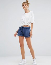 Wildfox Couture Lounge Shorts Stewardess Navy