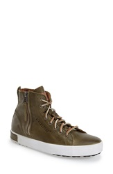Blackstone 'Jl' High Top Sneaker Women Olive