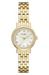 Kate Spade Women's New York Monterey Crystal Dial Bracelet Watch 24Mm