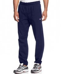 Champion Jersey Banded Bottom Pants Navy