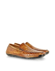 Pakerson Light Brown Alligator Loafer
