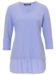 Betty Barclay Layered Effect Top Lavender Blue