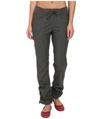 Royal Robbins Jammer Roll Up Pant Obsidian Women's Casual Pants Brown