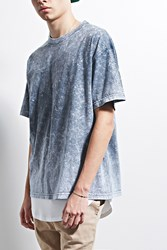 Forever 21 Eptm. Mineral Wash Boxy Tee Grey